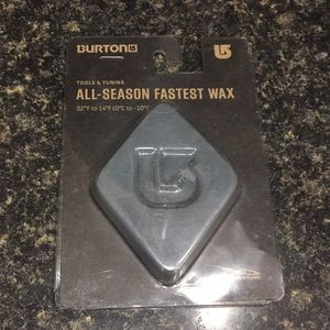 Burton All Season Fastest Wax